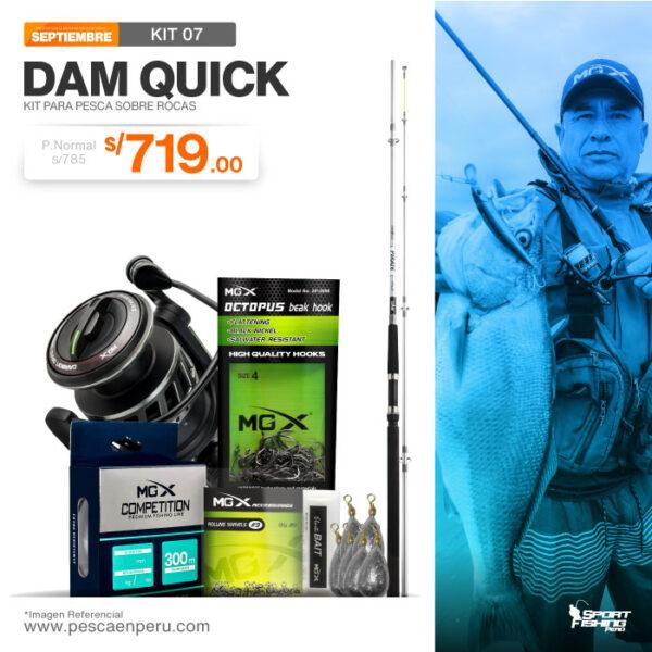 11 kit de pesca dam quick