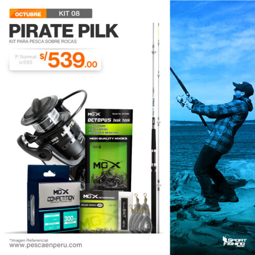 13 kit pirate pilk