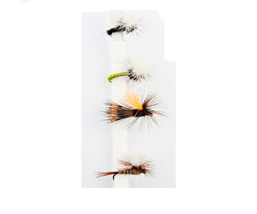 FORRESTER FLY parachute dry flies x1 1