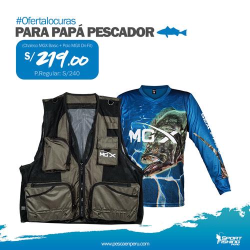 SportFishing Peruchaleco polo