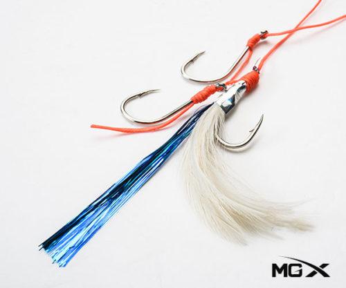anzuelo mgx con plumas CR 01