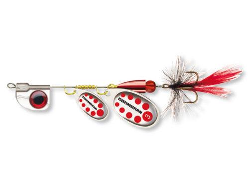 cormoran bullet anti twist silver red fly 1