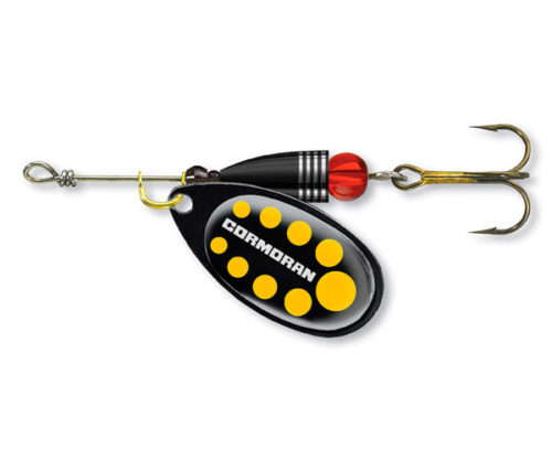 cormoran spinner bulllet Black yellow 1