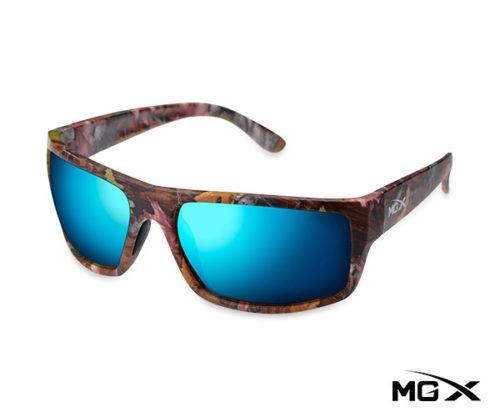 lentes mgx camuflados con espejado azul