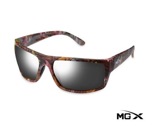 lentes mgx camuflados con espejado gris