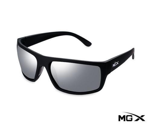 lentes mgx negros con espejado gris