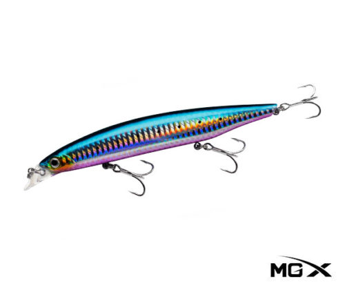 mgx akari 140sr Purple belly sardine