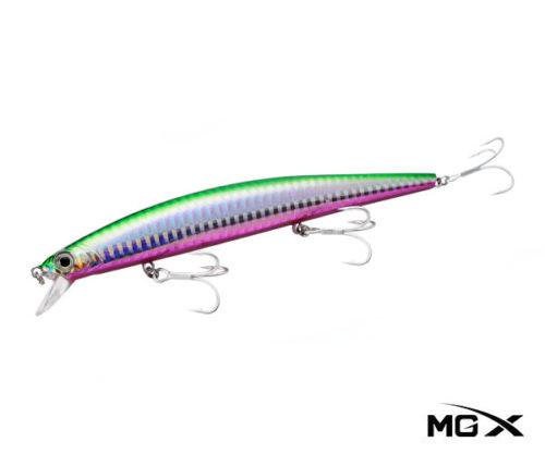mgx hirame 140S Shinner Purple Belly