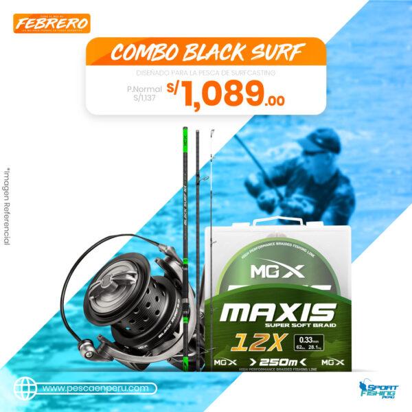 19 COMBO BLACK SURF