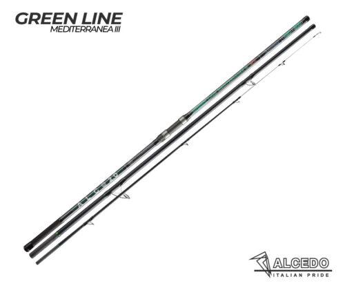 caña de surfcasting alcedo green line mediterranea iii