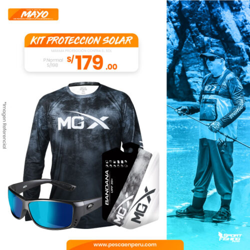 22 kit proteccion solar sportfishing peru