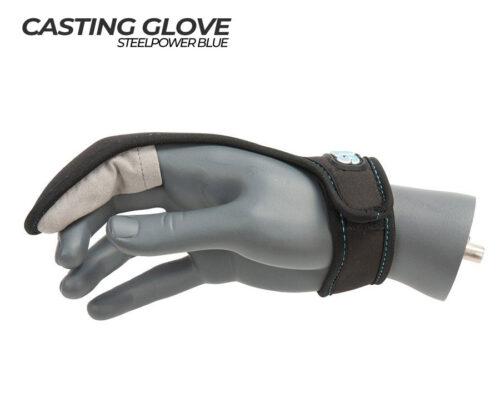 steelpower blue casting glove 2