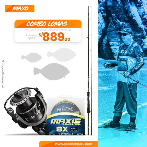 10 combo lomas sportfishing peru