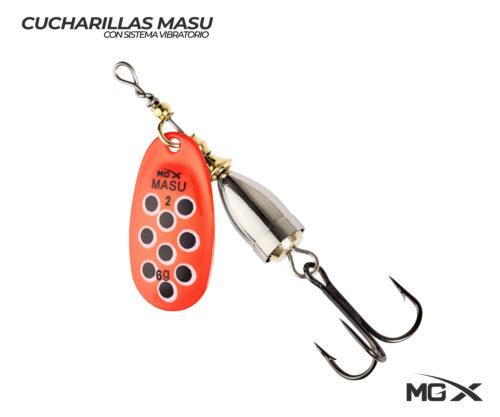 cucharilla mgx masu 2 orange black dots
