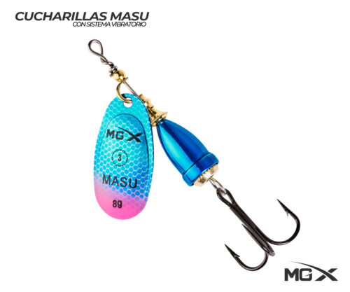 cucharilla mgx masu 3 blue pink