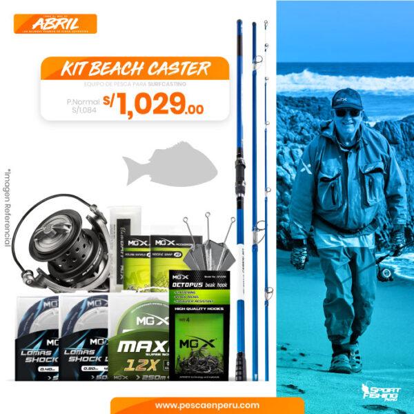 14 kit beachcaster