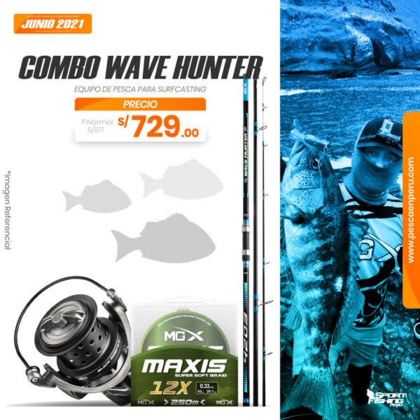 15 combo wave hunter