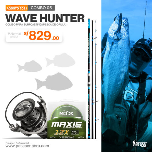 16 combo wave hunter 2