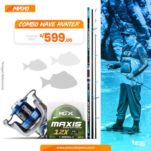 17 Combo Wave Hunter sportfishing peru