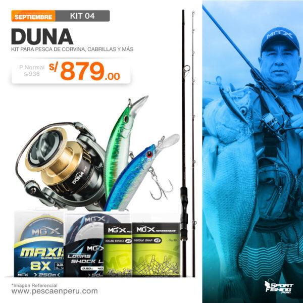 04 kit de pesca duna