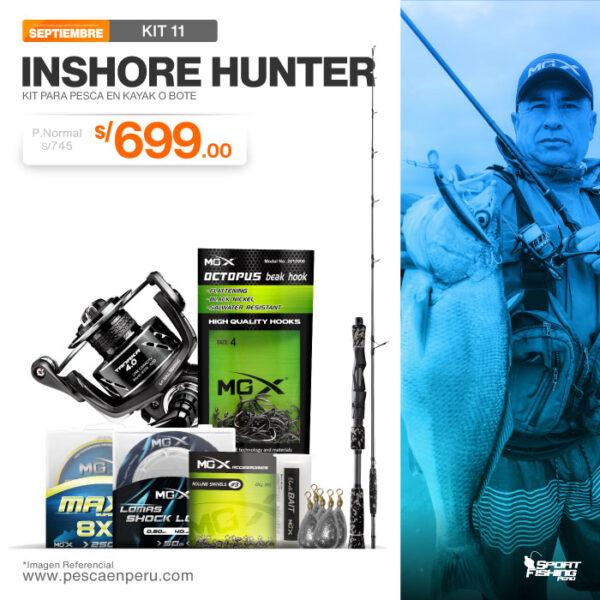 18 kit de pesca inshore hunter