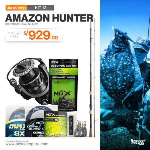 19 KIT AMAZON HUNTER