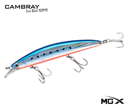 senuelo mgx cambray 120md orange belly sardine II