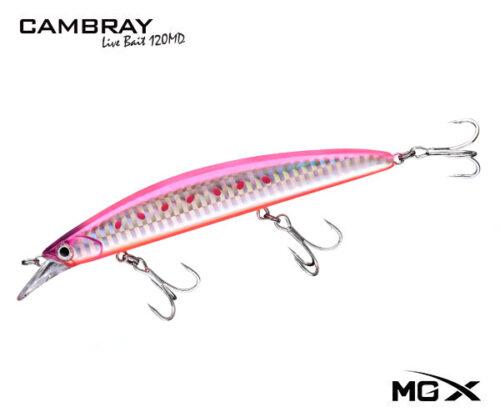 senuelo mgx cambray 120md pink sardine II