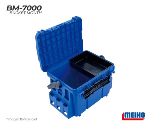 meiho Bucket Mouth bm 7000 azul 2